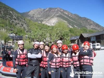 Rafting Noguera Pallaresa - Parque Nacional de Aigüestortes y Lago San Mauricio; rutas por madrid